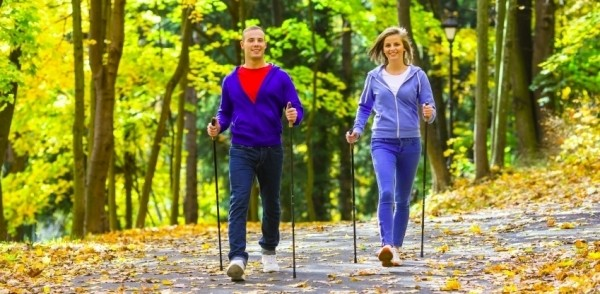 NORDIC WALKING – MOVING ON UP!