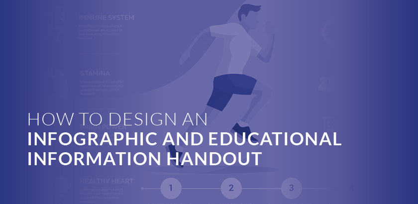 HOW TO DESIGN AN INFOGRAPHIC AND EDUCATIONAL INFORMATION HANDOUT
